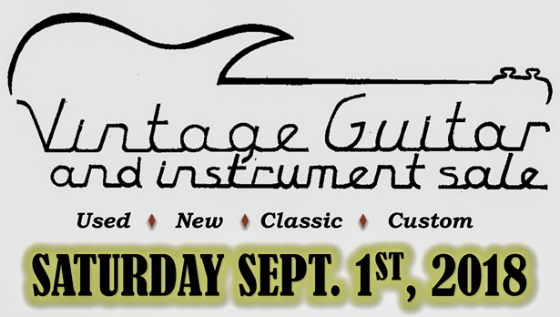 The Sweet Sounds of the Vintage Guitar and Instrument Sale | Cramahe